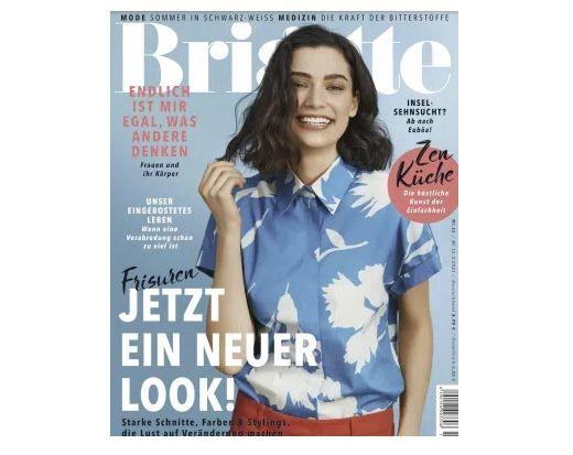 6 Ausgaben der Brigitte für 24€ + Prämie: 25€ Amazon Gutschein