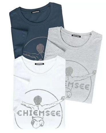 3er Set Chiemsee Herren T Shirts für 36,49€ (statt 71€)   XL und 2XL