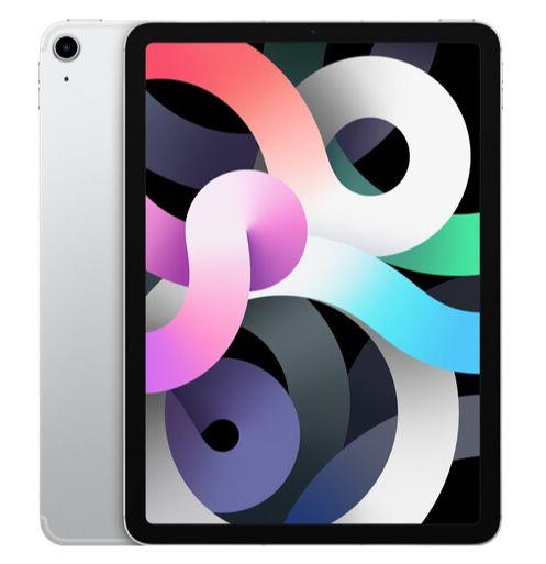 Apple iPad Air (2020) mit 64GB WiFi + 4G in Silber für 588,42€ (statt 675€)