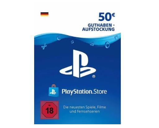 50€ PlayStation Store Guthaben für 39,39€