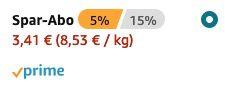 Wrigleys Spearmint Kaugummi mit Minze (8 Packungen) ab 3,41€   Prime Sparabo