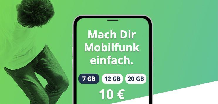 🔥 Freenet Flex: Vodafone Allnet Flat mit z.B. 20GB LTE für 20€ mtl.   monatlich kündbar!