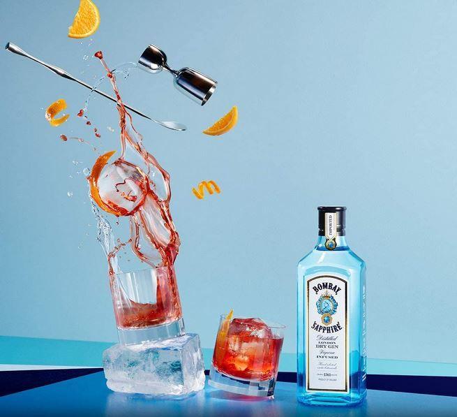 Bombay Sapphire London Dry Gin 2 x (1 Liter) für 39,80€ (statt 58€)