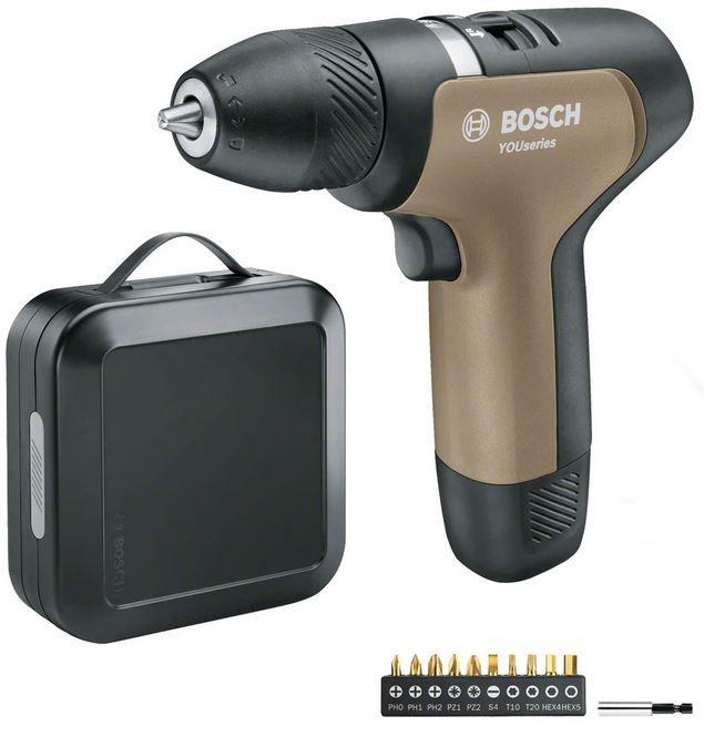 Bosch YOUseries Drill Akkuschrauber Set inkl. Akku für 49€ (statt 64€)