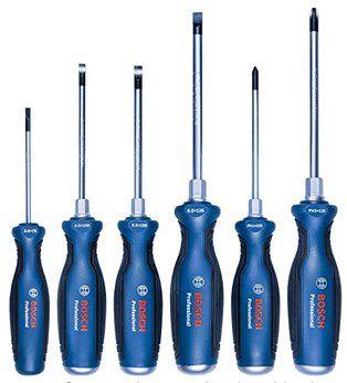 Bosch Professional 6 tlg. Schraubendreher Set für 27,99€ (statt 43€)