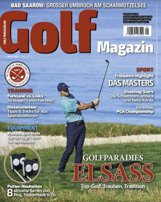 12 Ausgaben GOLFmagazin im Abo für direkt reduzierte 9,99€ (statt 96€)