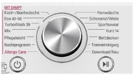 LG F4WV908P2E 8kg Frontlader Waschmaschine, 1400 U/min für 498,95€ (statt 679€)
