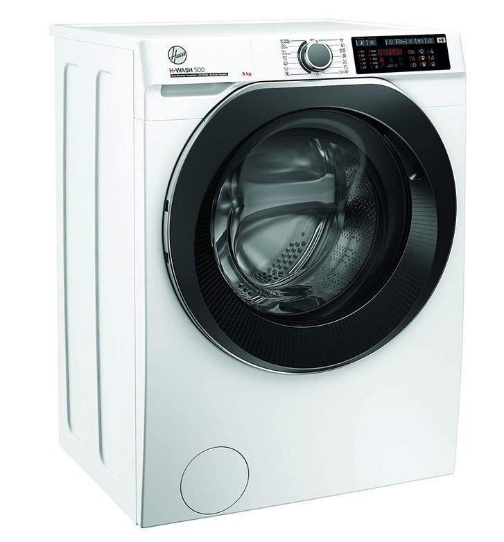 Hoover HWQ 58AMBS/1-S 8kg Waschmaschine mit Damof Funktion für 379,99€ (statt 496€)