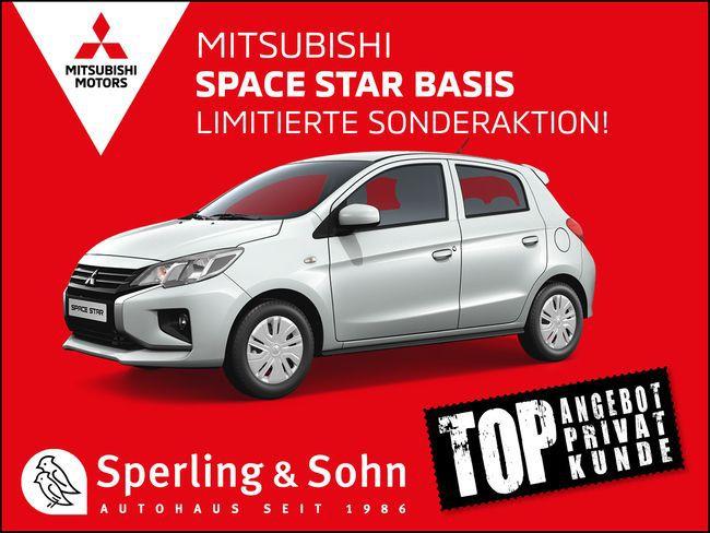 Privat: Mitsubishi Space Star mit 71 PS für 59,90€ mtl.   Pflegedienste bekommen 450€ Sonderrabatt