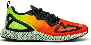 adidas ZX 2K 4D Solar Yellow Sportschuh für 68,62€ (statt 90€)   bis 44