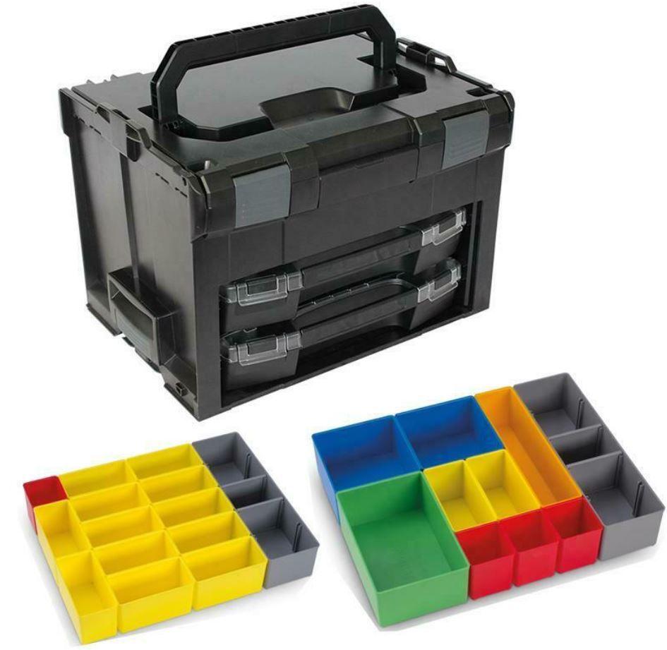 Sortimo LS-Boxx 306 System Werkzeug Koffer + Zubehör für 99,90€ (statt 116€)