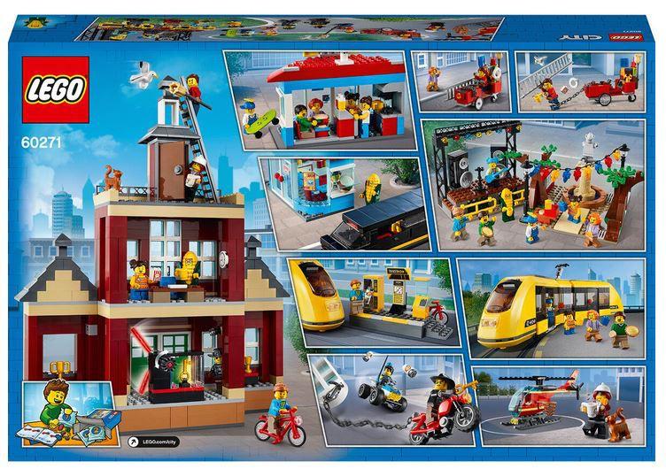 LEGO 60271 City Stadtplatz Set für 134,99€ (statt 169€)