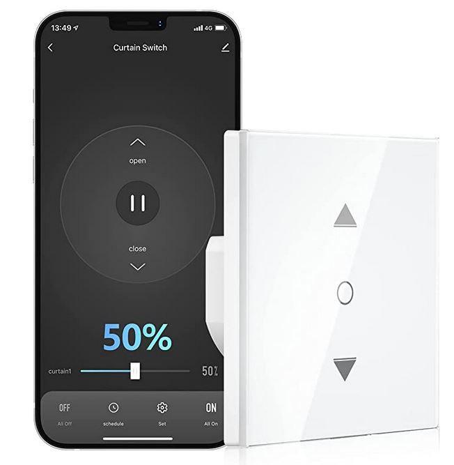 Maxcio WF CS01 smarter Rolladenschalter mit App Alexa & Google für 20,99€ (statt 30€) oder 2 für 33,59€