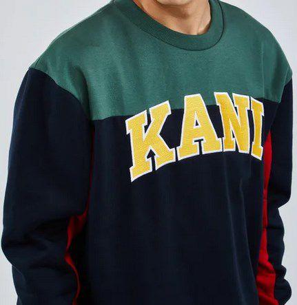 Karl Kani College Block Sweatshirt für 39,99€ (statt 67€) – S, M & XL