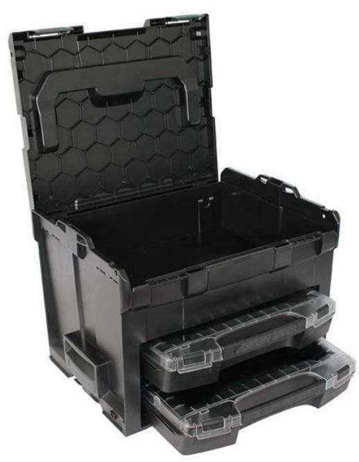 Sortimo LS Boxx 306 System Werkzeug Koffer + Zubehör für 99,90€ (statt 110€)