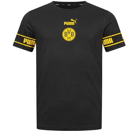 Puma   BVB Borussia Dortmund   Culture Herren Fan T Shirt für 16,94€ (statt 22€)