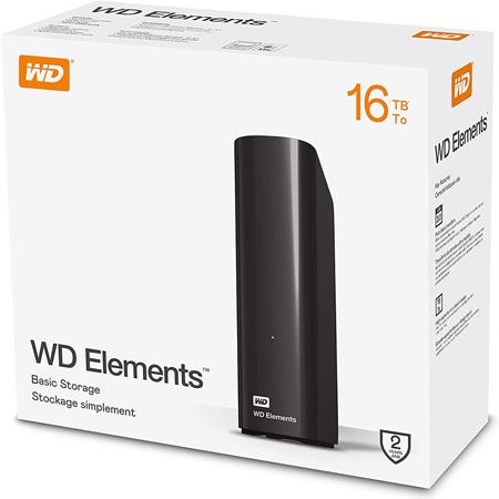 WD Elements 16 TB Externe Festplatte ab 415,99€ (statt 760€)