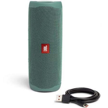 JBL Flip 5 Eco Bluetooth Lautsprecher in Grün für 73,99€ (statt 89€)