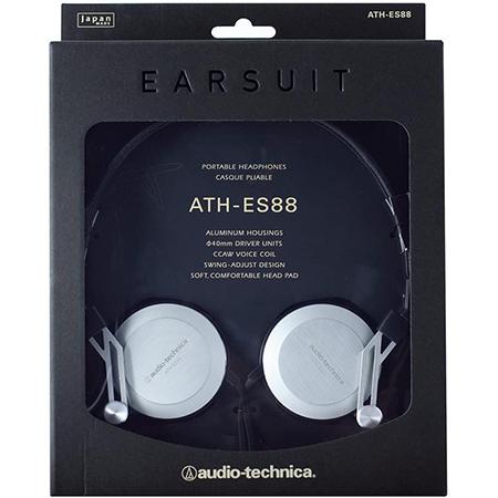 Audio Technica ATHES88 Hi Fi Kopfhörer mit 3,5 mm Klinkenstecker für 44,85€ (statt 120€)