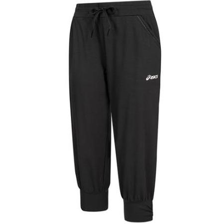 Asics Knit Capri Damen 3/4 Jogginghose in Schwarz für 18,94€ (statt 25€)