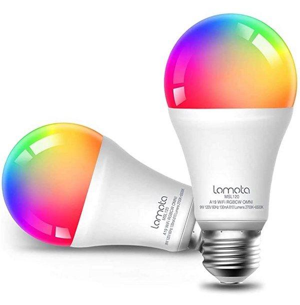 2er Pack: WLAN LED Glühbirne für 9,99€ (statt 15€) – Prime