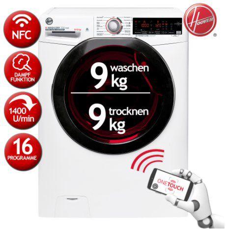 HOOVER H3DSQ499TAMBE-84 Waschtrockner 9 kg für 400€ (statt 532€)
