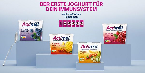 Actimel Joghurt zum Löffeln kostenlos ausprobieren