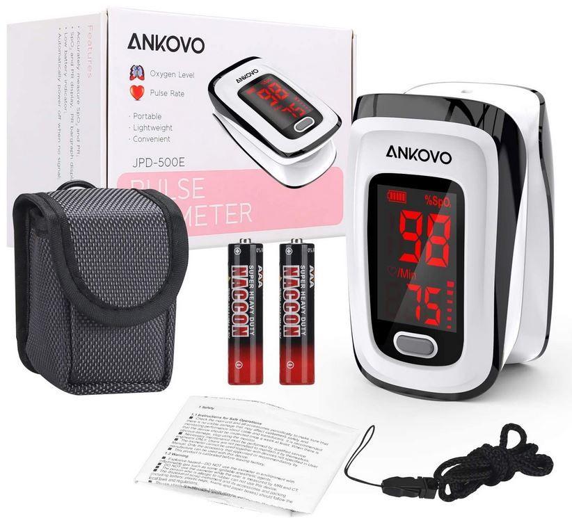 Ankovo Finger Pulsoximeter für 6,80€ (statt 20€) Prime