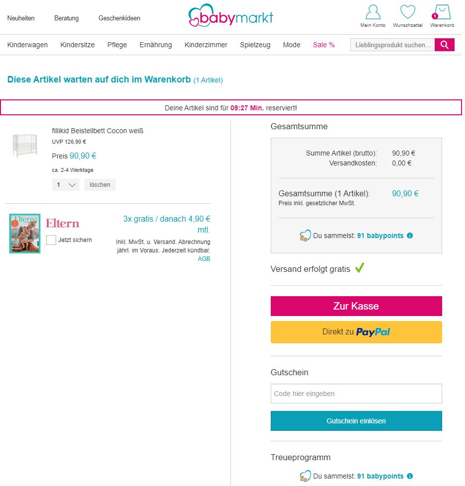 Babymarkt Gutschein: tolle Deals & Rabatte entdecken