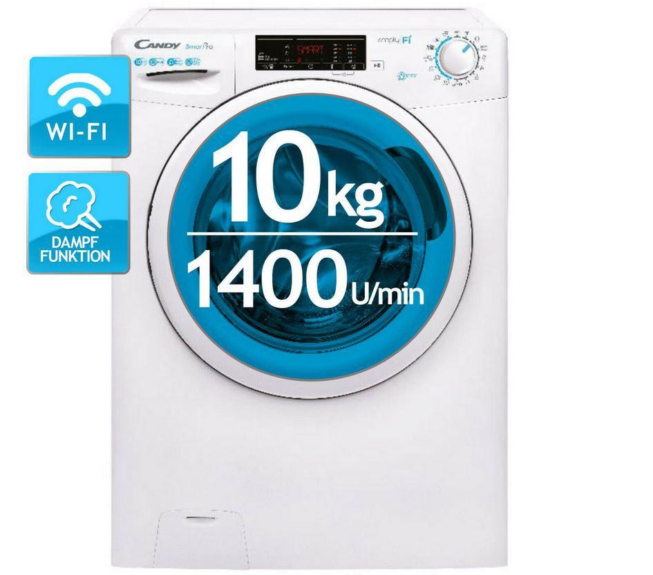 Candy CSO 14105TE/1-S smarte Waschmaschine max 10kg für 260,91€ (statt 349€)