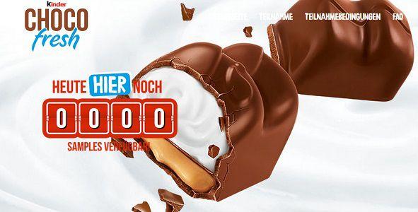 Kostenlos: Von Kinderschokolade Chocofresh