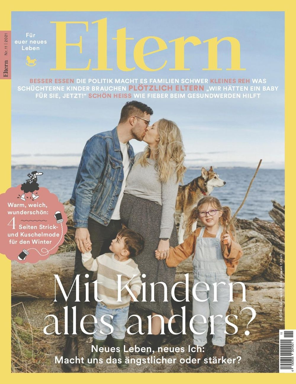 Jahresabo der Zeitschrift Eltern für 58,80€ + Prämie 50€ Amazon Gutschein