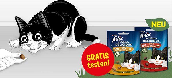 Purina: FELIX® Naturally Delicious gratis ausprobieren