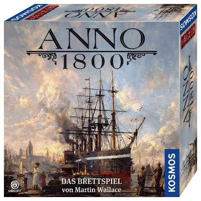 Kosmos ANNO 1800 (680428)   Das Brettspiel für 33,29€ (statt 43€)
