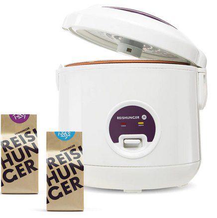 Reishunger Reiskocher + Basmati Reis & Jasmin Reis (je 200g) für 29,99€ (statt 45€)