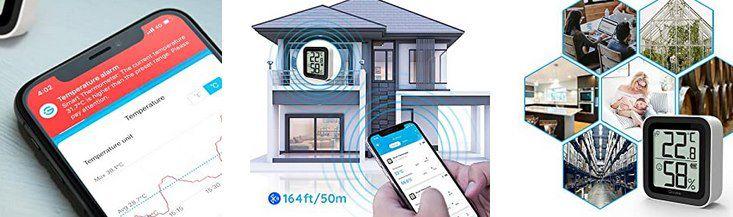 Govee Bluetooth Hygro  & Thermometer mit App Anbindung für 9,59€ (statt 12€)   Prime
