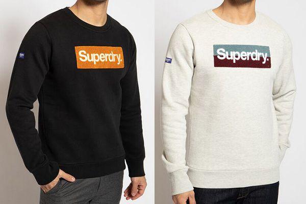 Superdry Cl Workwear Crew Sweatshirt in 4 Farben für je 31,54€ (statt 58€)
