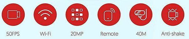 Victure AC820   4K 50fps ActionCam mit viel Zubehör für 49,99€ (statt 100€)