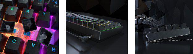 Dierya DK61E   mechanische RGB Gaming Tastatur für 48,99€ (statt 70€)   QUERTY Layout