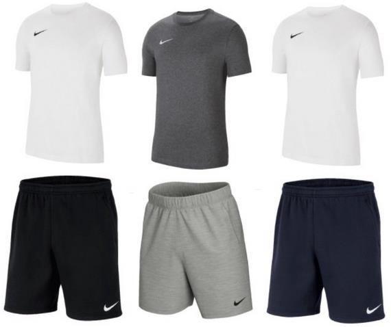 Nike Freizeit Outfit Team Park 20 im Set für 34,95€ (statt 41€)