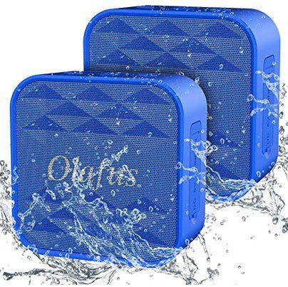 2er Pack: Olafus Mini BT 5.0 Lautsprecher mit bis zu 12h Spielzeit für 19,79€ (statt 30€)