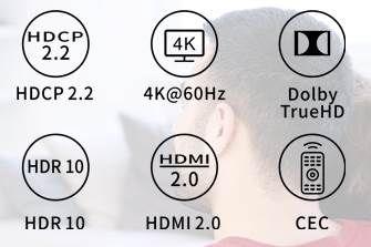 WELVAN 2in1 HDMI Switch für 9,99€ (statt 20€)   Prime