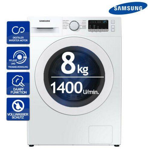 Samsung WW81T4042EE Waschmaschine mit 8kg & Digital Inverter Motor für 314,91€ (statt 383€)