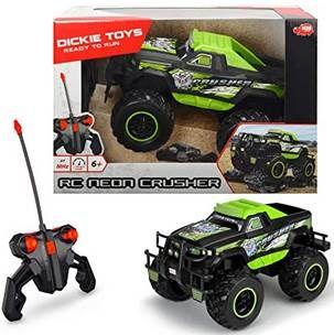 Dickie Toys RC Neon Crusher   Ferngesteuertes Auto für 18,42€ (statt 32€)