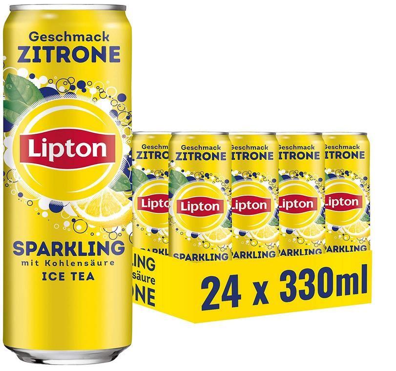 24x0,33L Lipton Ice Tea Sparkling Zitrone für 14,16€ (statt ~24€)