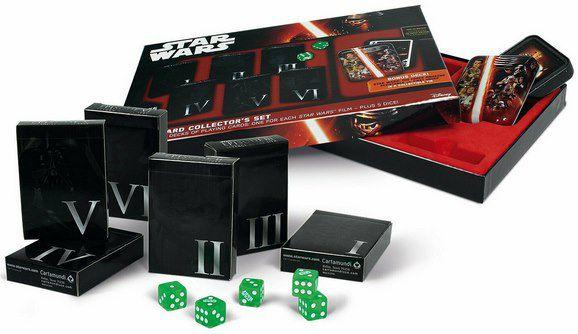 Star Wars Spiel Bundle mit Quiz + Spielkarten + Elfer raus für 29,95€ (statt 38€)