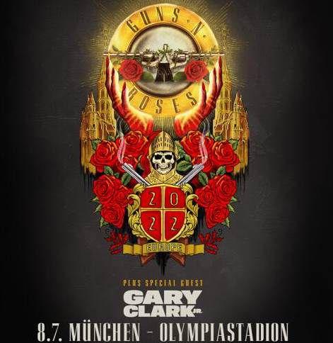 Ticket für Guns N Roses in München am 08.07.22 inkl. ÜN in 4* Hotel mit Frühstück ab 214€