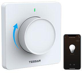 Tessan WLAN Dimmschalter mit App Steuerung für 17,99€ (statt 30€)