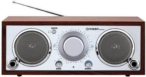 TZS First Austria Retro AM/FM Tischradio für 25,90€ (statt 35€)