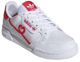 adidas Originals Continental 80 Kinder Sneaker in Weiß/Rot für 31,99€ (statt 50€)